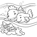 Fish Coloring Page - Coloring book