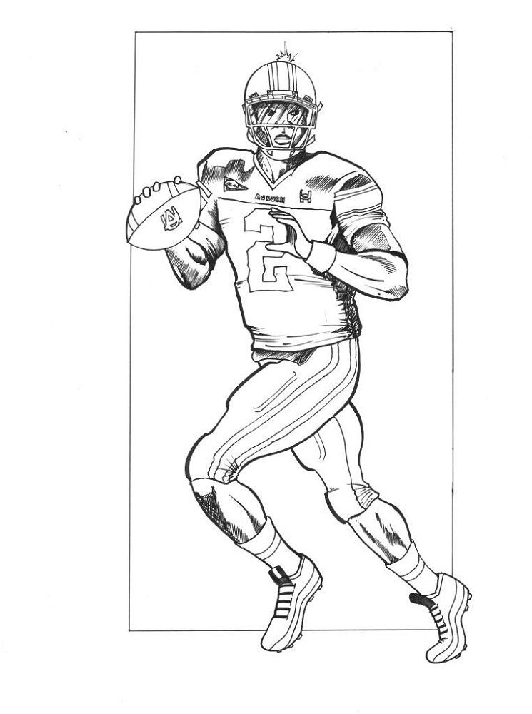 football coloring pages for school