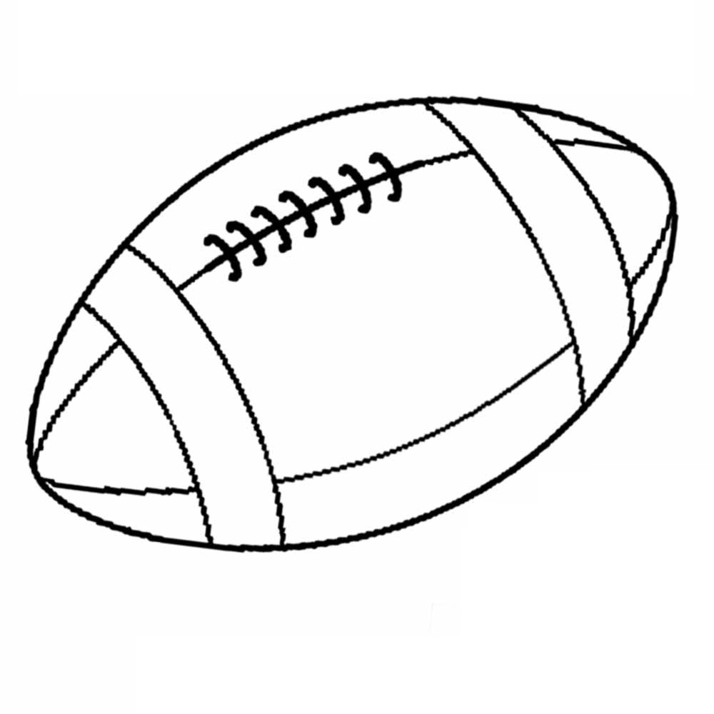 football coloring pages printable