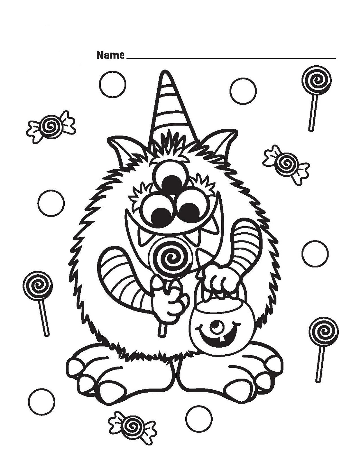 halloween printable coloring pages fun