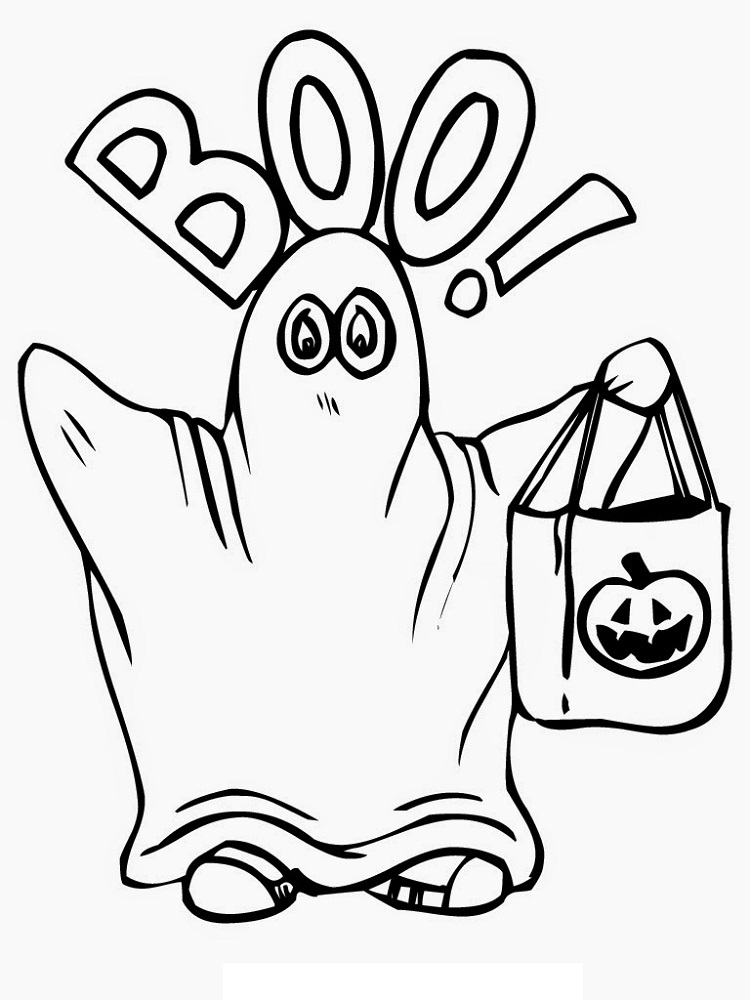 halloween printable coloring pages kids