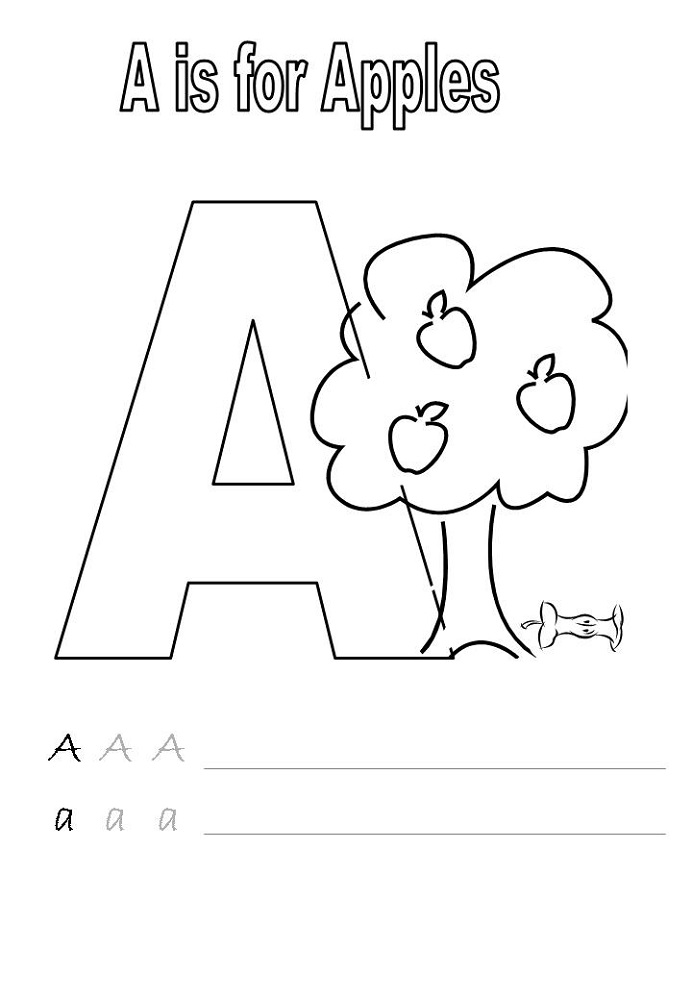 kindergarten alphabet worksheets for preschool