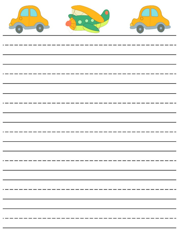 lined paper for kids free