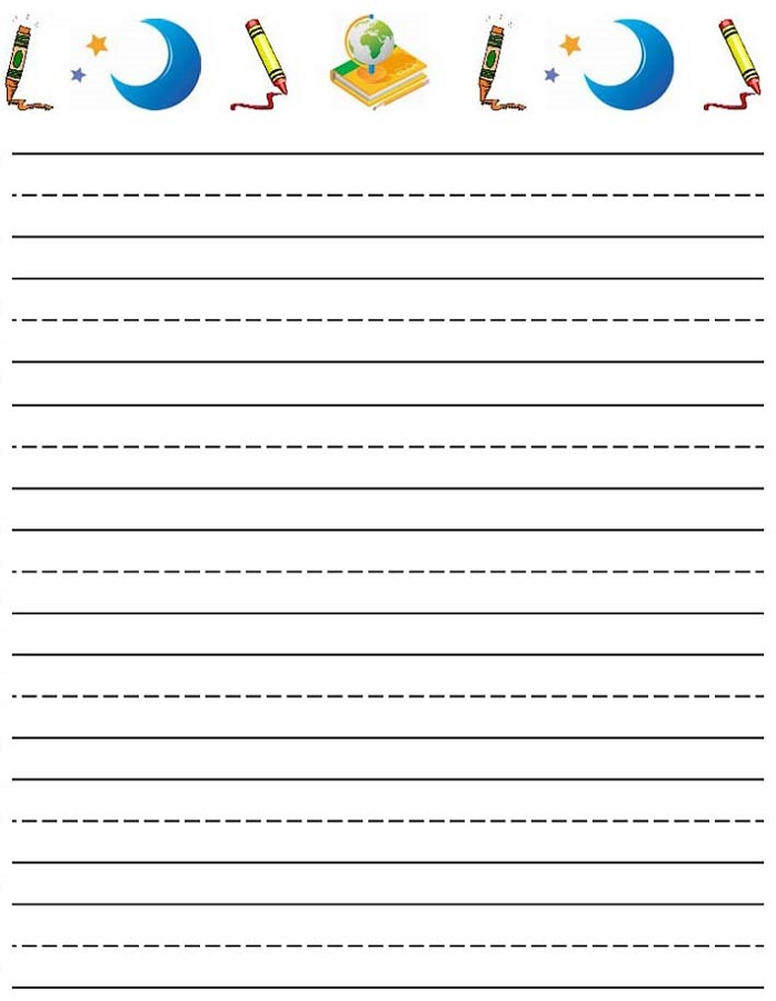 lined paper for kids printable