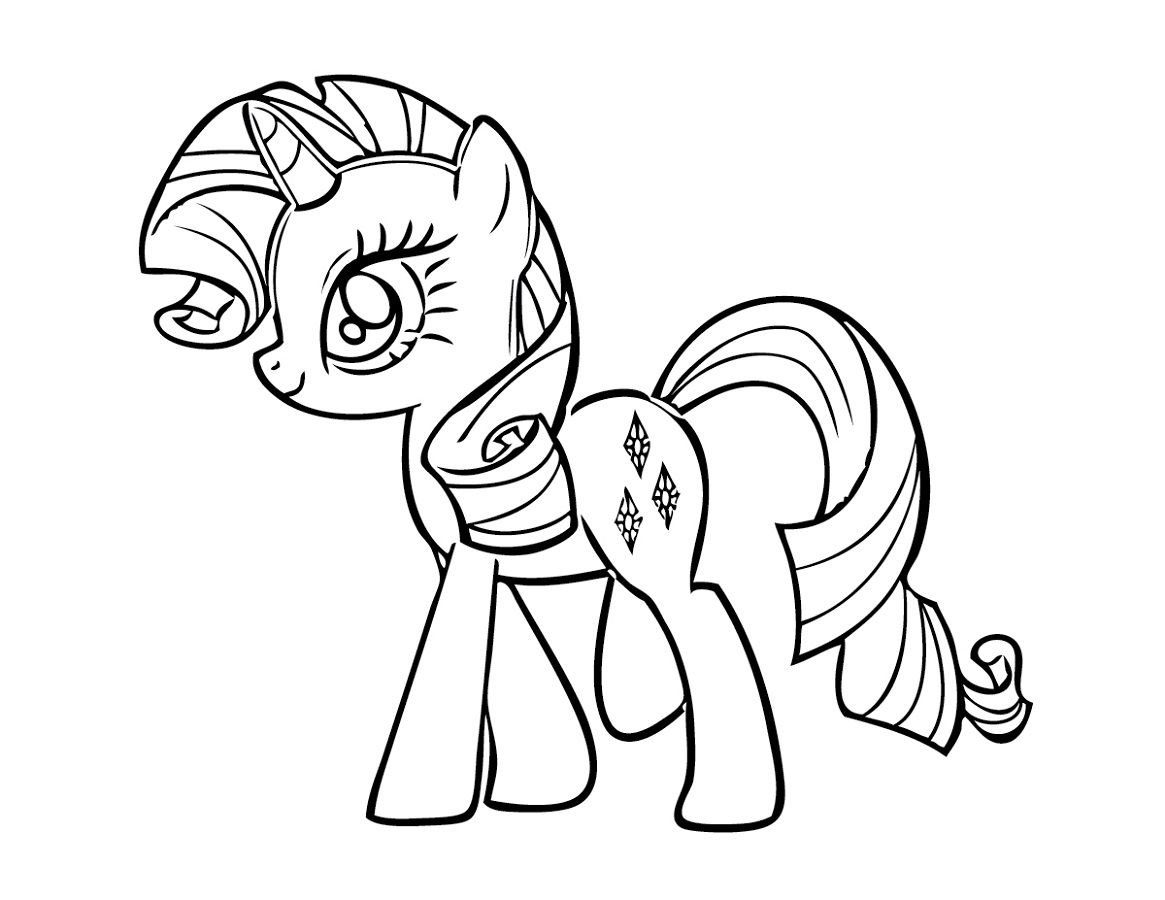 my little pony coloring pages fun