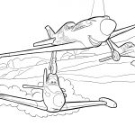 Planes Colouring Pages - Airplane