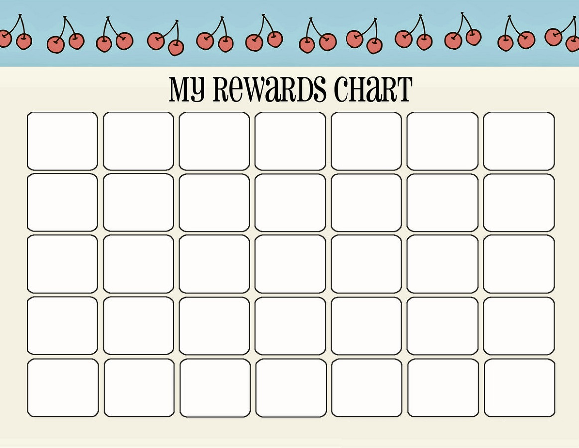 printable reward charts free
