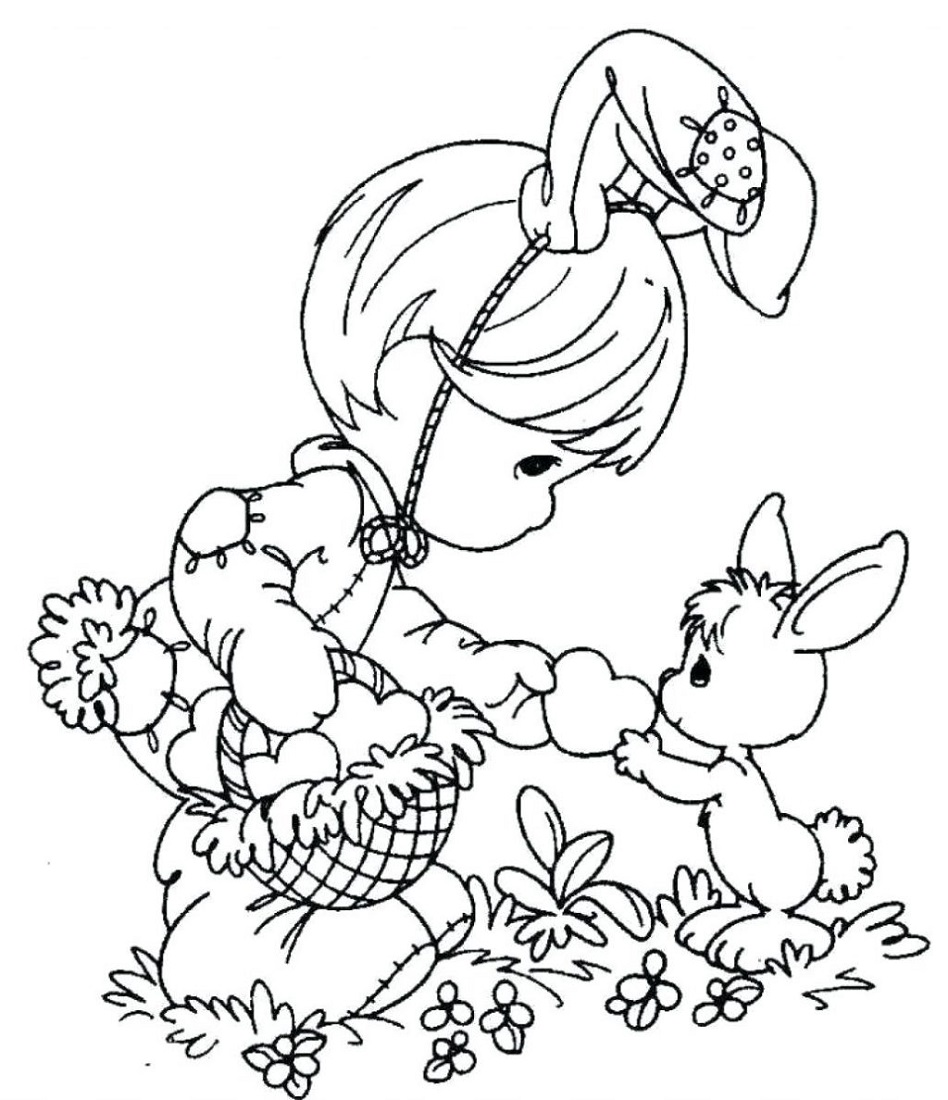 spring coloring pictures for school