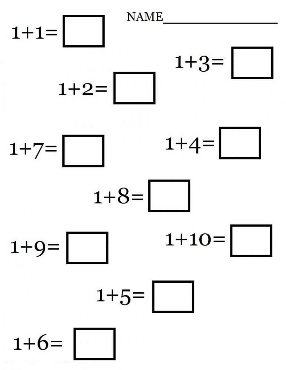 worksheets for 1st grade easy