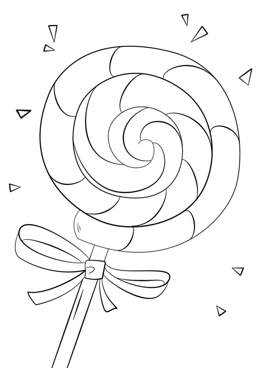 Candyland Coloring Pages | Kids Learning Activity
