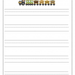 Lined Paper for Writing - Paper