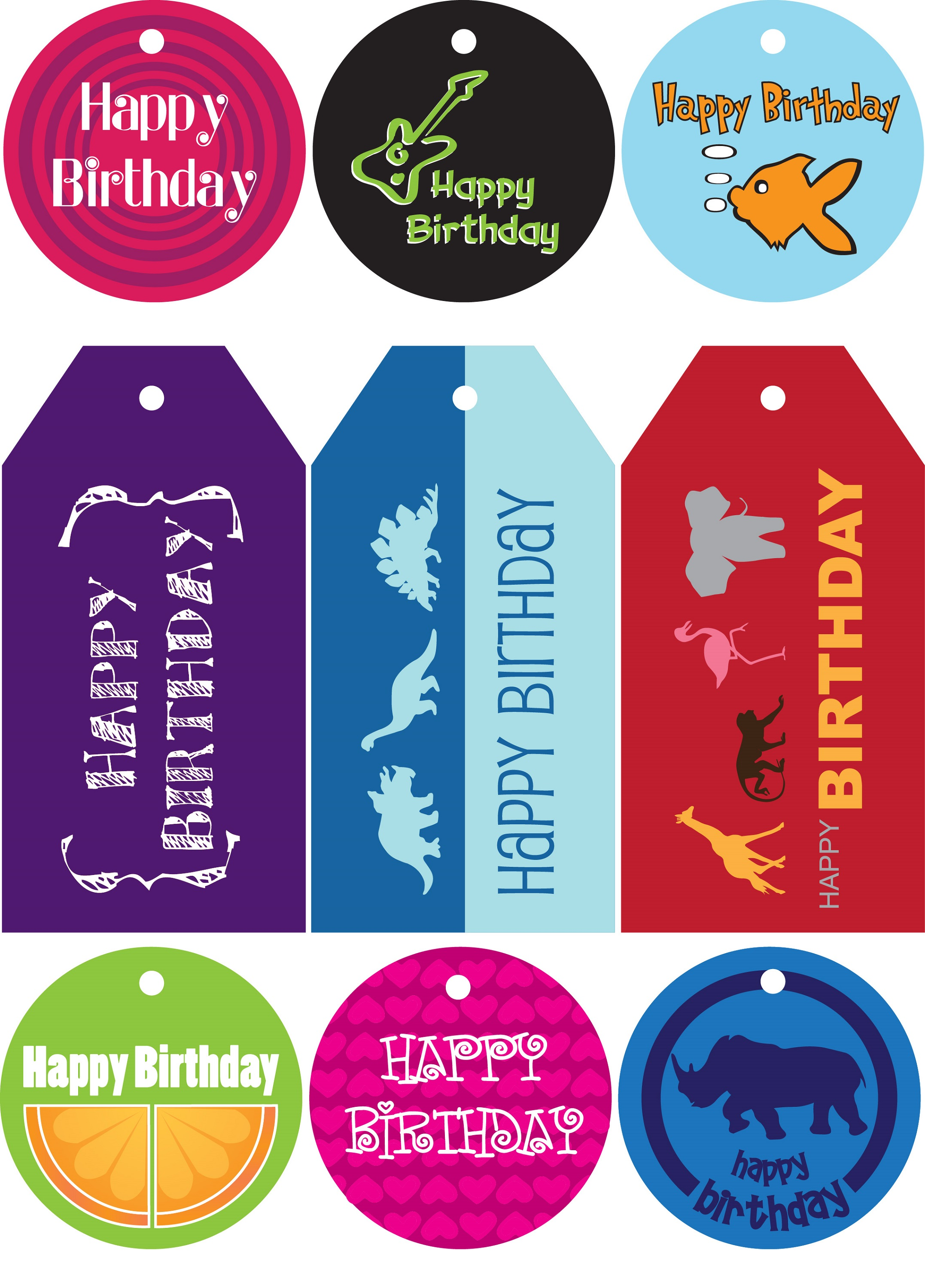 free printable gift tags for kids