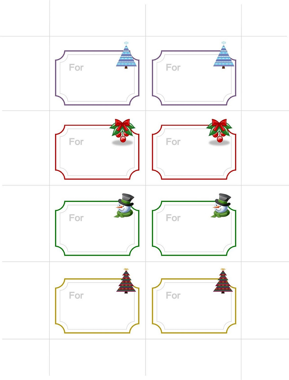 free printable gift tags for kindergarten