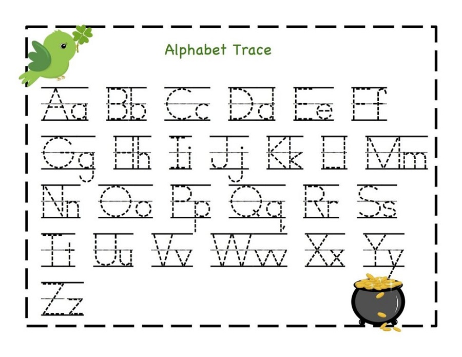 free printable letters alphabet
