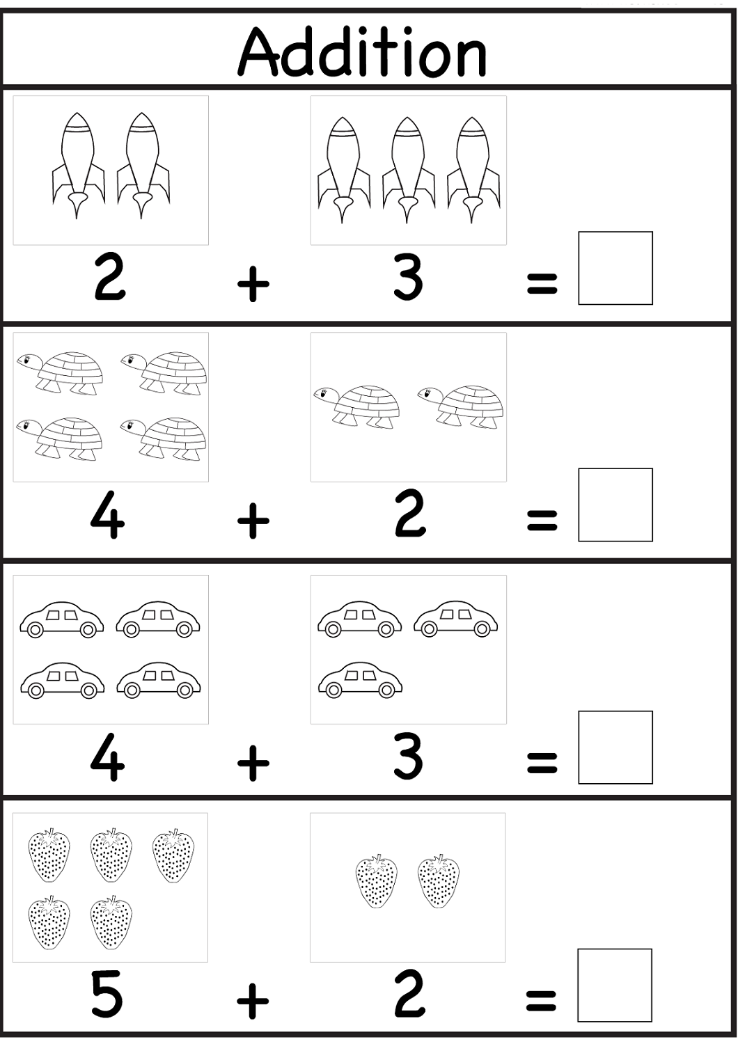 math is fun worksheets for kids – Kids Learning Activity