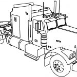 Pictures of Big Trucks for Kids Coloring Pages - Coloring book
