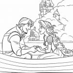Tangled Coloring Pages Printables - Rapunzel