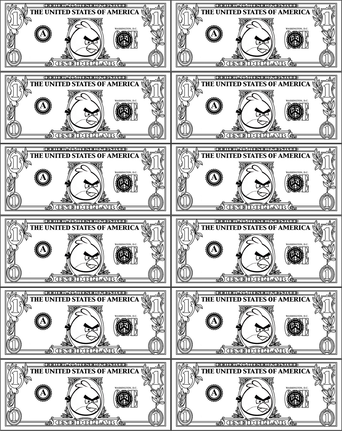 It's just a photo of Playing Money Printable inside french toy money