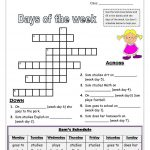 Days of The Week Worksheets for Kids - Names of the days of the week