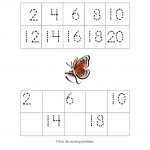 Count by 2s Worksheet - Number