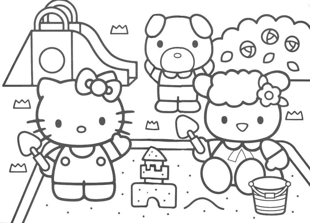 childrens coloring pages cartoon