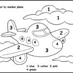 Color by Number Worksheets - Coloring book