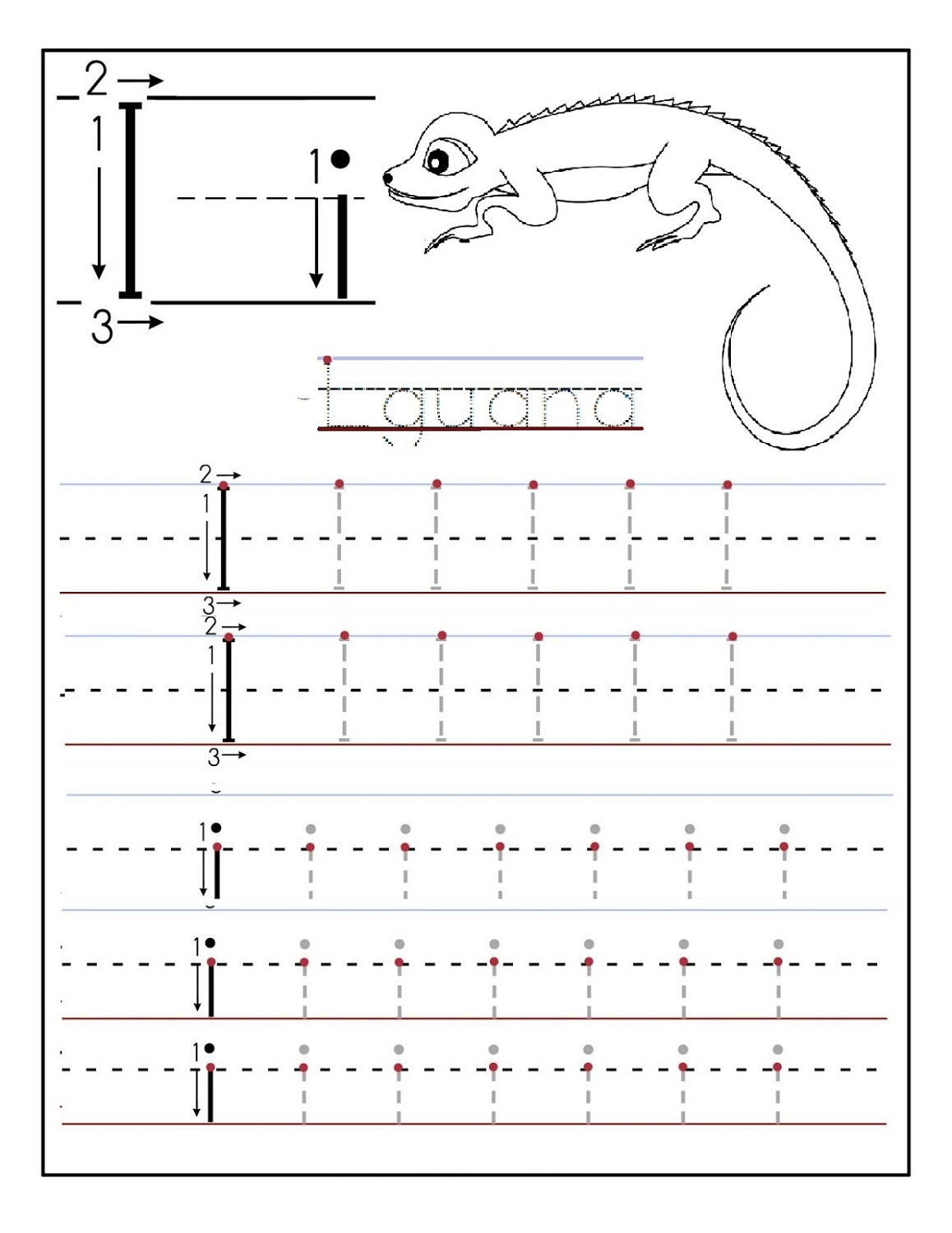 alphabet tracer pages for school