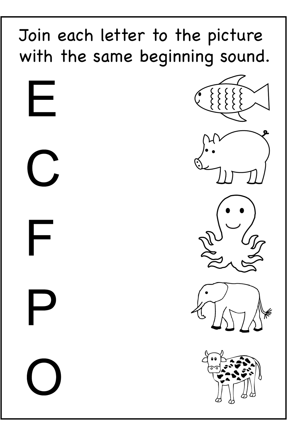 kids activity worksheets for preschool