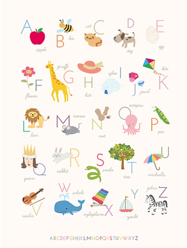 printable abc letters