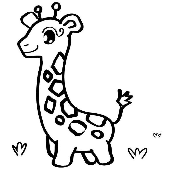 printable easy animal coloring pages