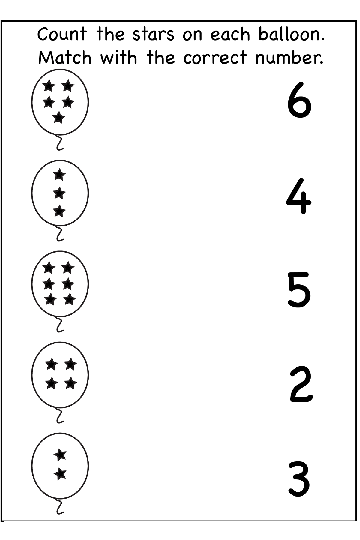 printable number activities for toddlers