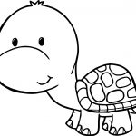 cute printable turtle coloring pages