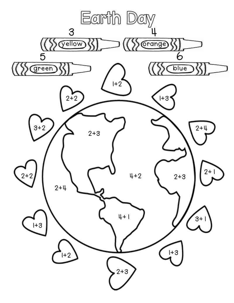 earth day worksheets coloring
