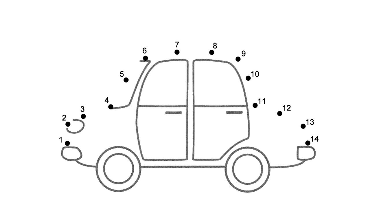 easy connect the dots car