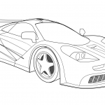 modern car coloring pages for kids