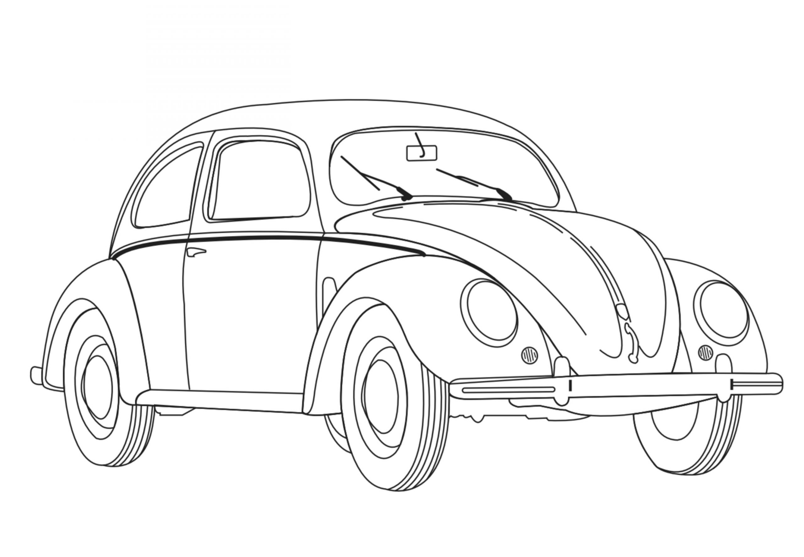 printable car coloring pages for kids