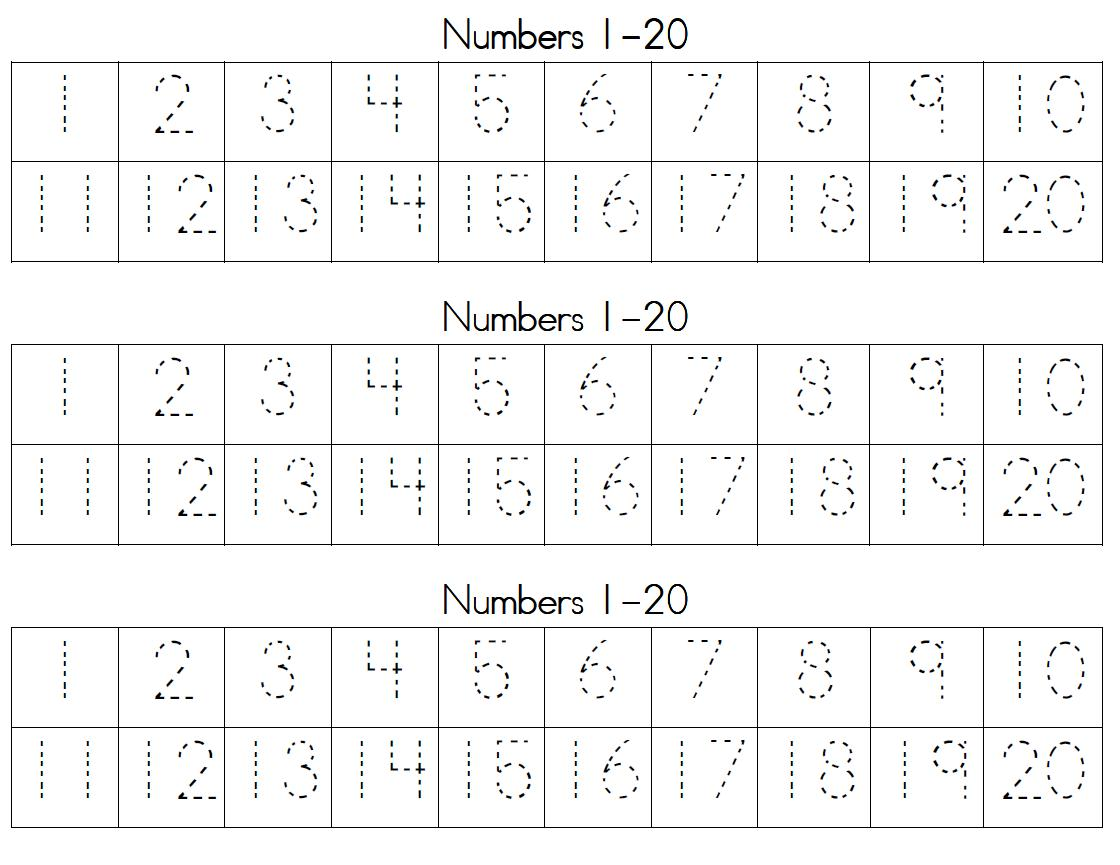 It's just a graphic of Printable Tracing Numbers with 10 counting