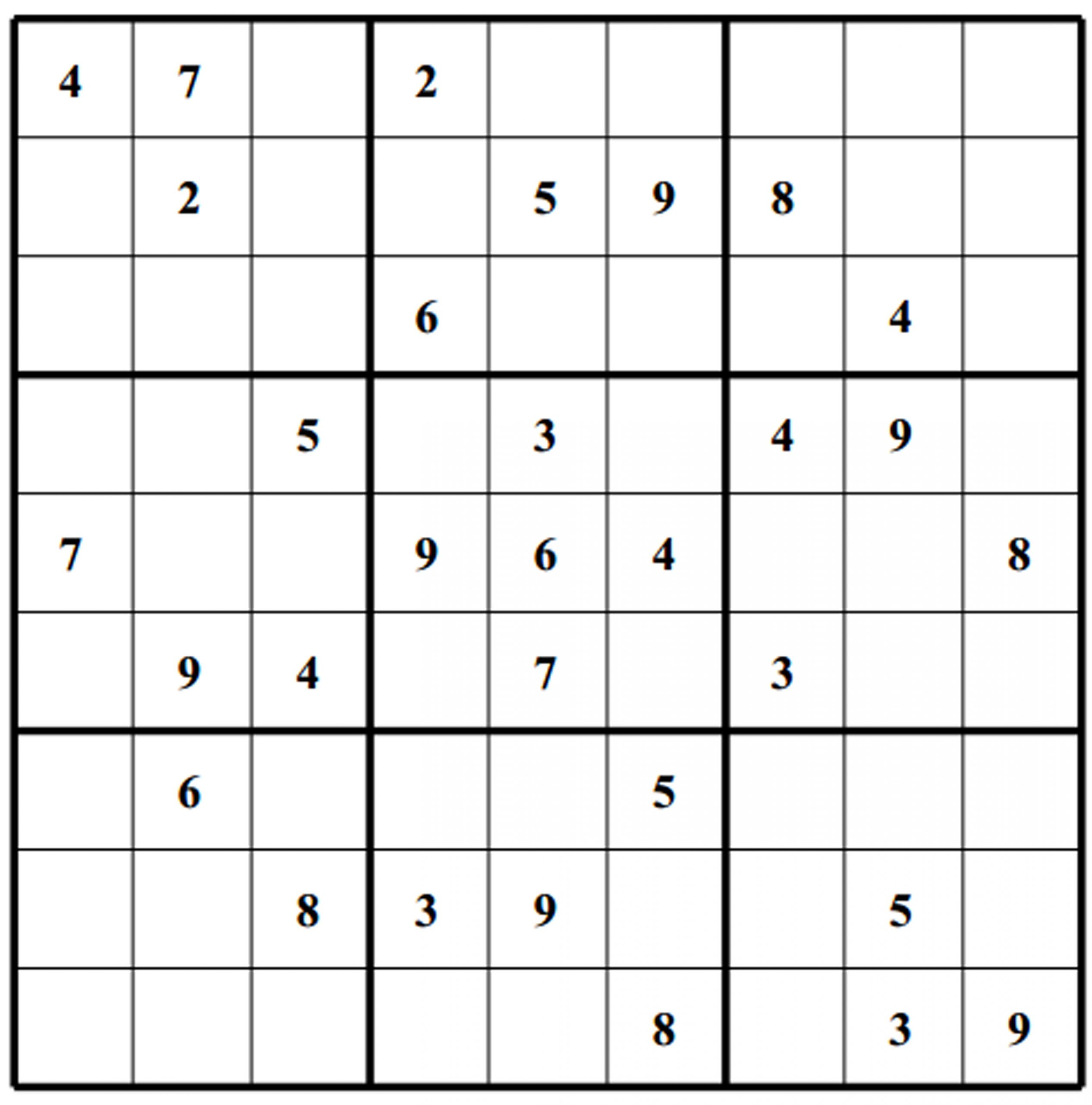 printable sudoku puzzles worksheets