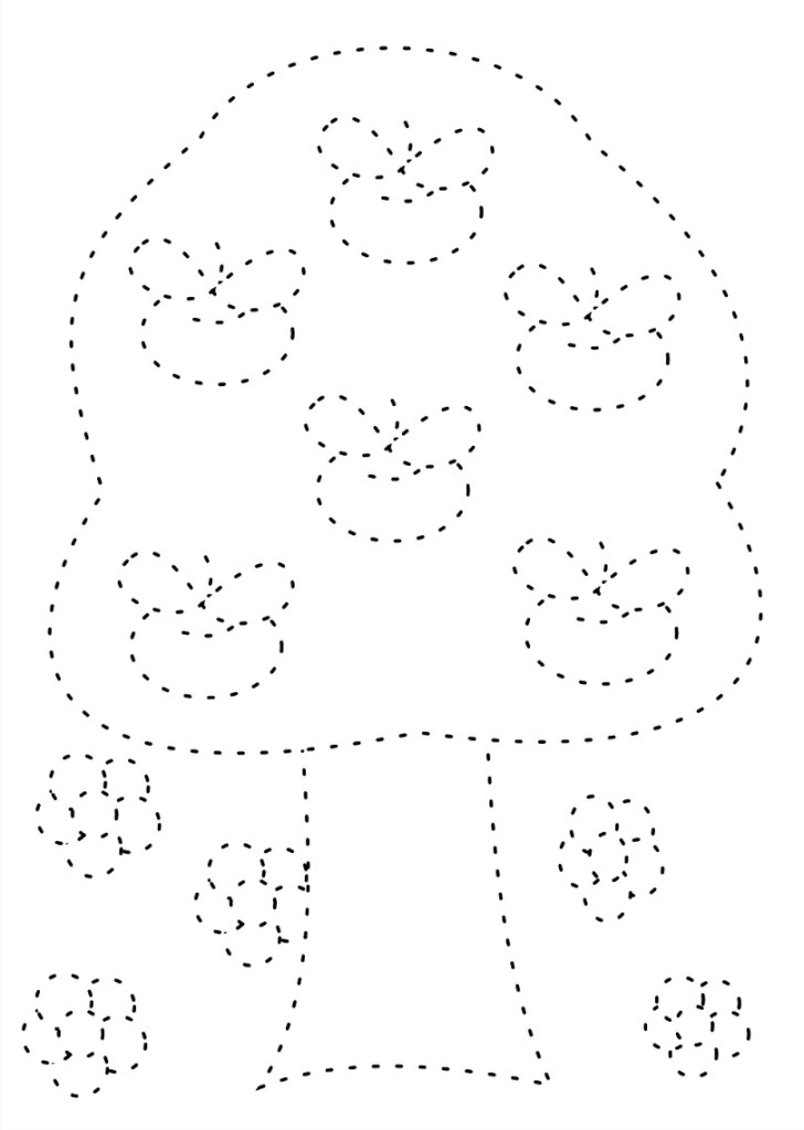 tracing sheets for preschoolers