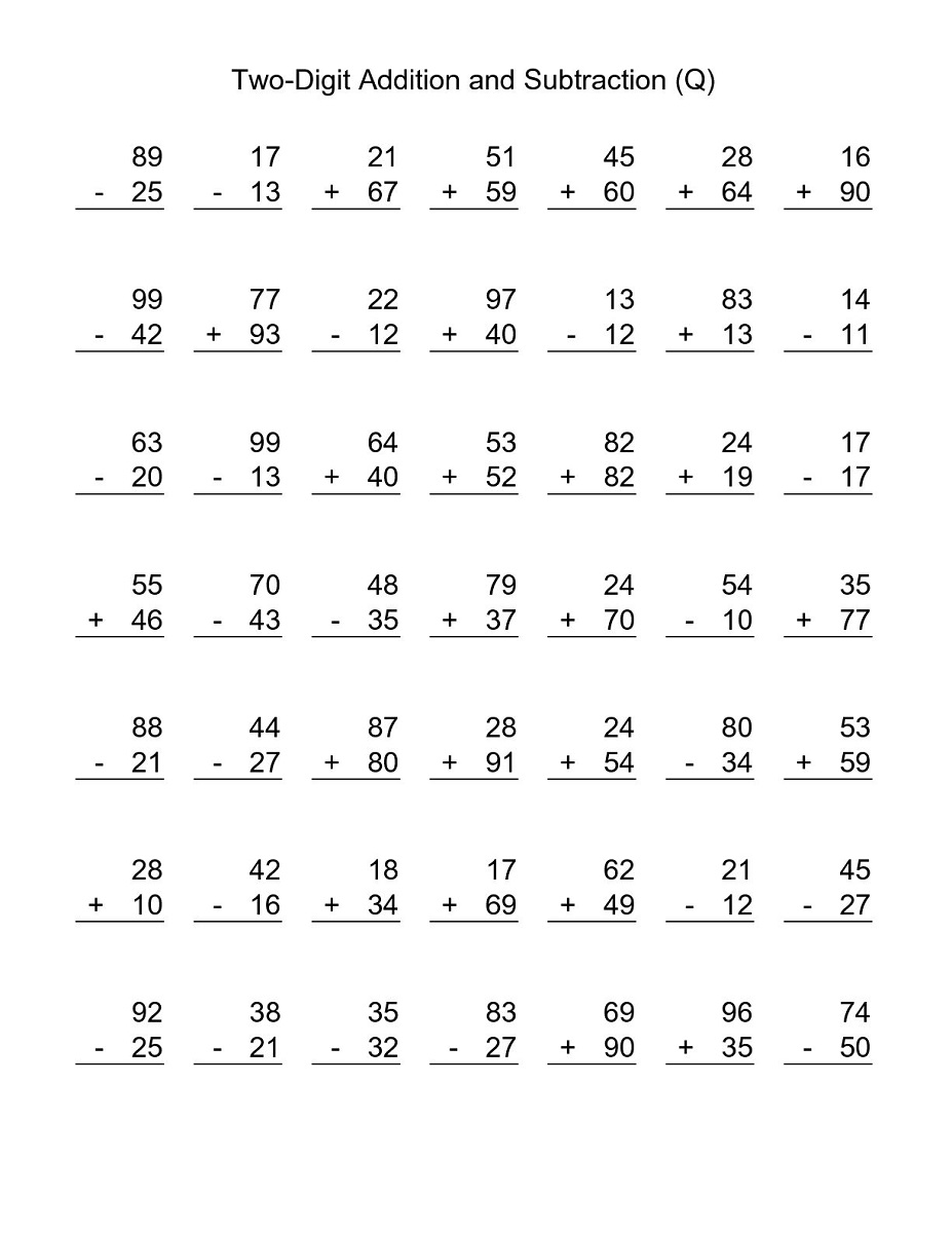 3rd grade math worksheets for education