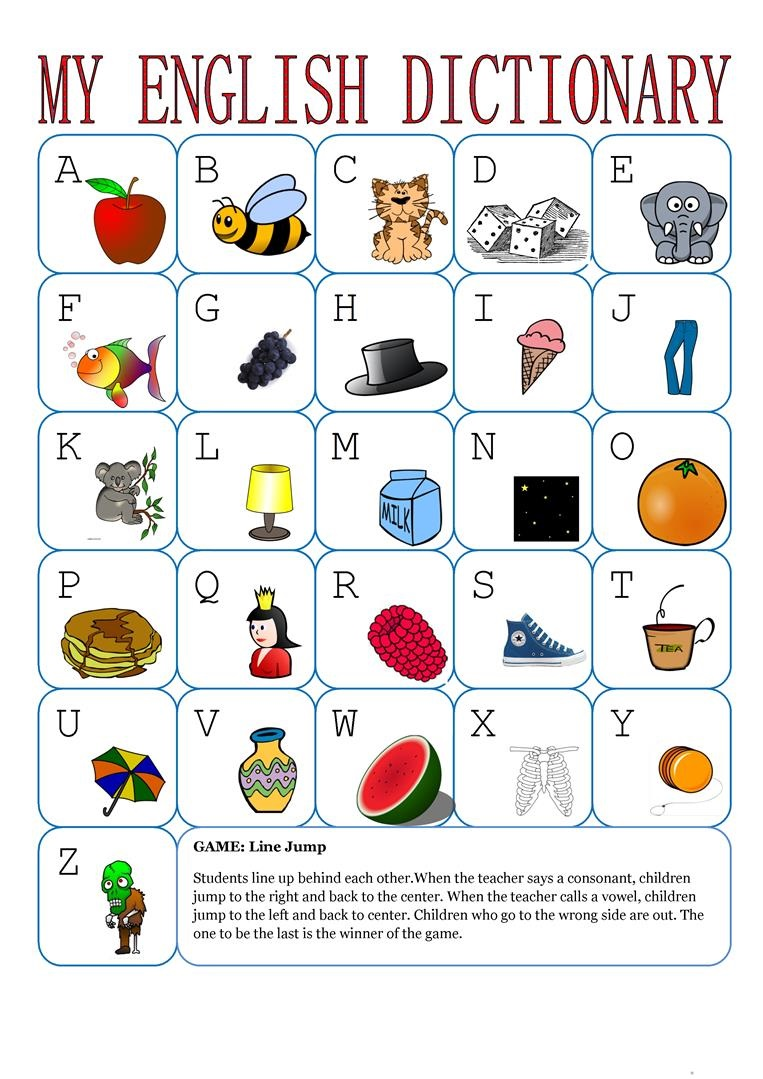 alphabet worksheets game for toddlers