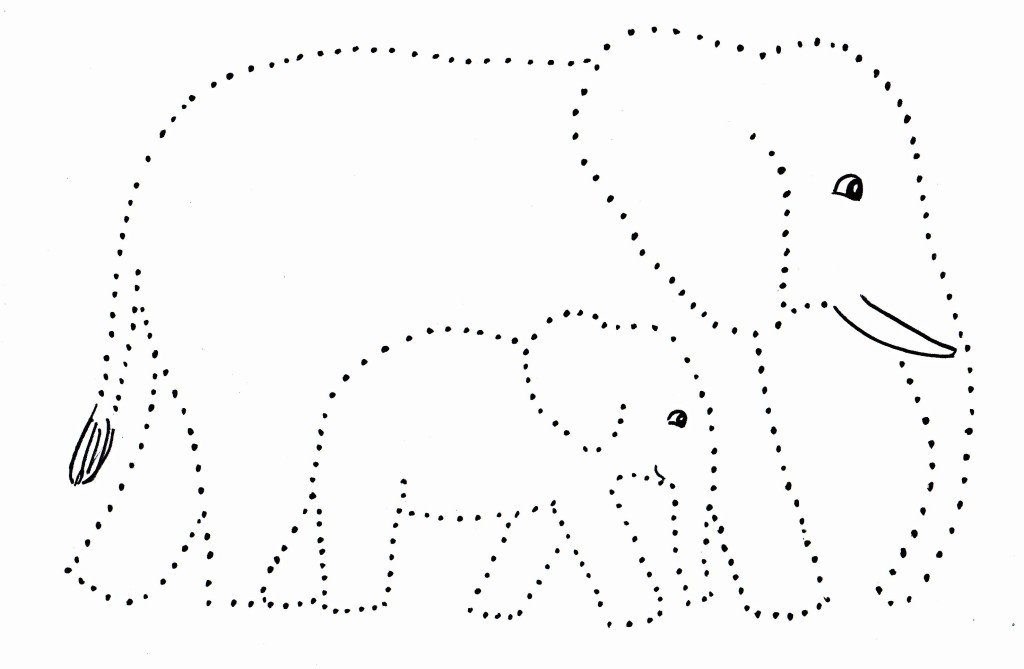 animal dot to dot worksheets for kids