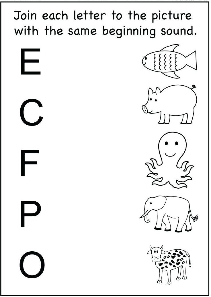 easy alphabet worksheets for toddlers
