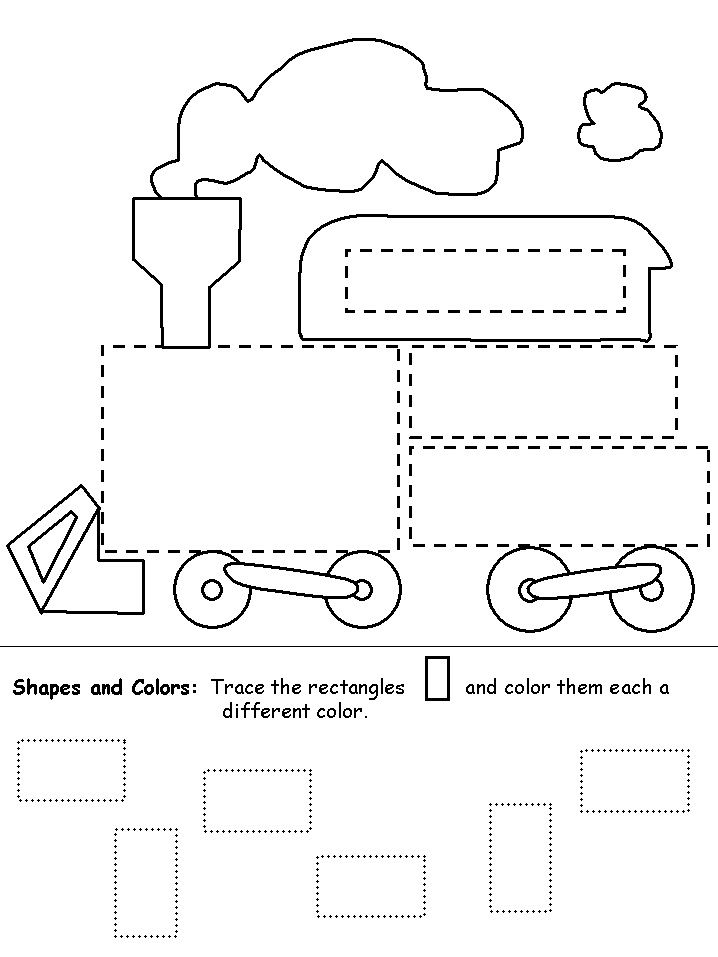 tracing for kindergarten student