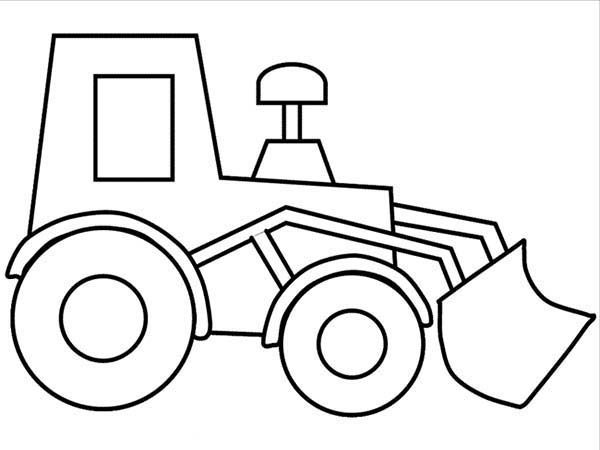 truck coloring worksheets for toddlers