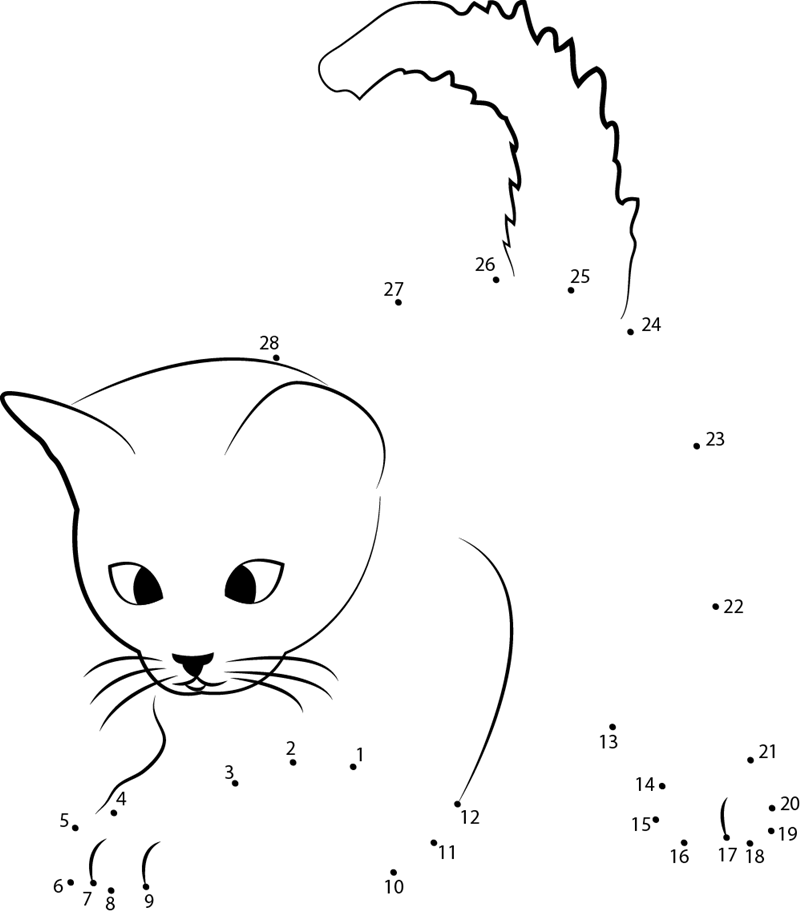 cute animal dot to dot worksheets