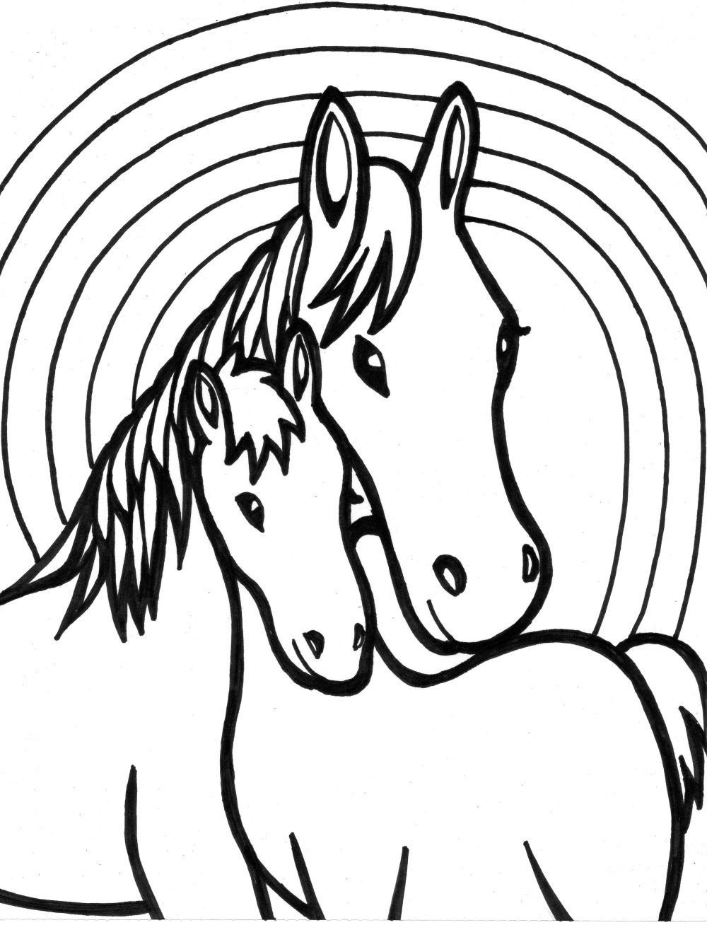 easy coloring pages for kids girls