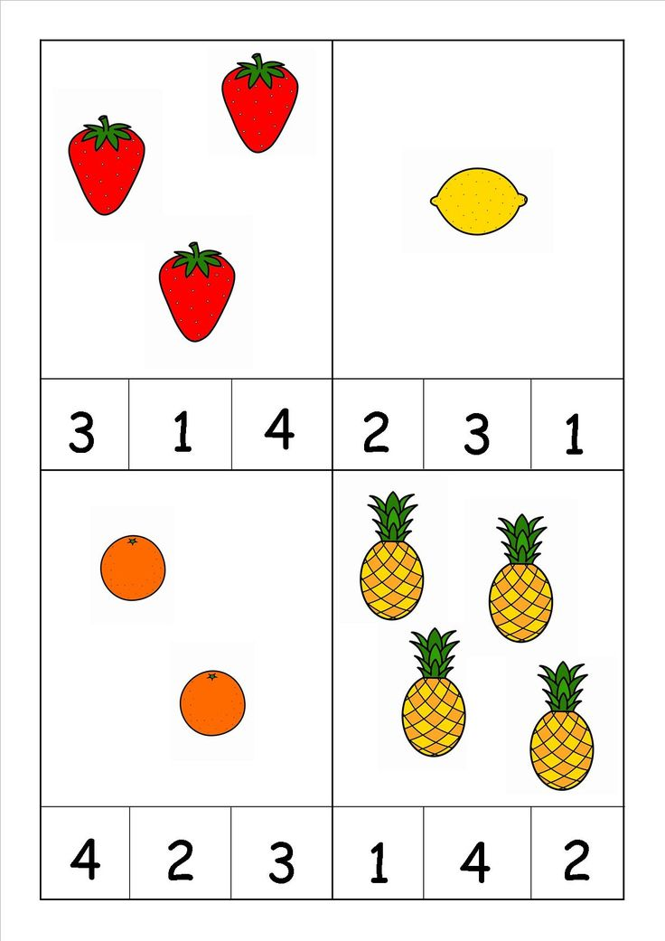 fruits worksheets for kindergarten activity