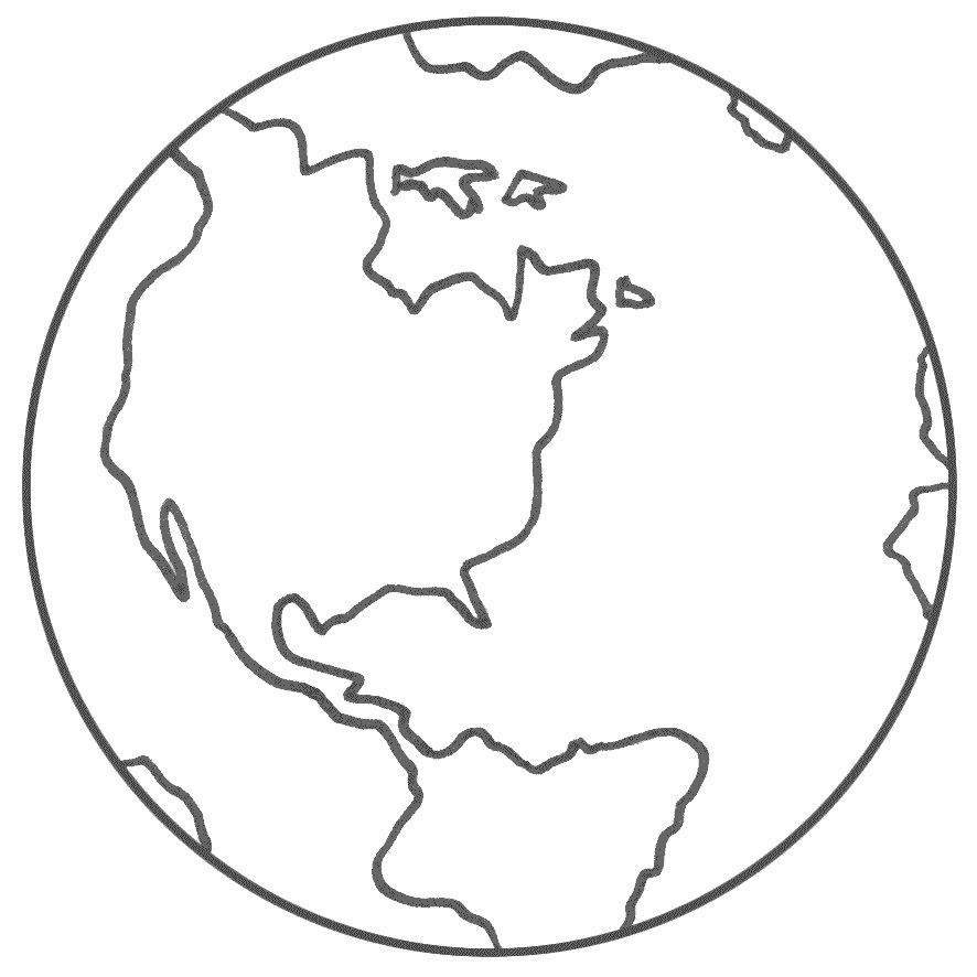 planets earth coloring pages