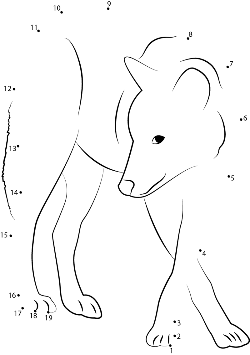 printable animal dot to dot worksheets